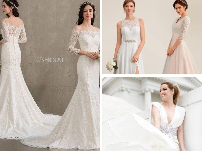 JJ's House : des robes de mariage à prix abordable <br> pour mariée et invitée