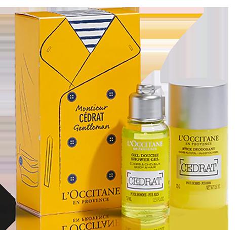 Cadeau beauté coffret l'Occitane