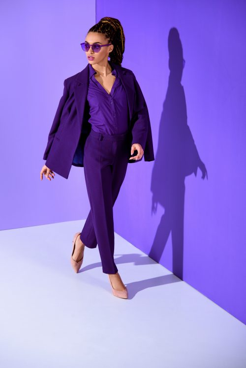 Le violet : couleur tendance de la mode automne-hiver 2019