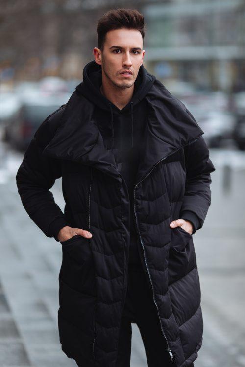 Mode masculine : tendance AH 2019-2020 pièce maxi doudoune