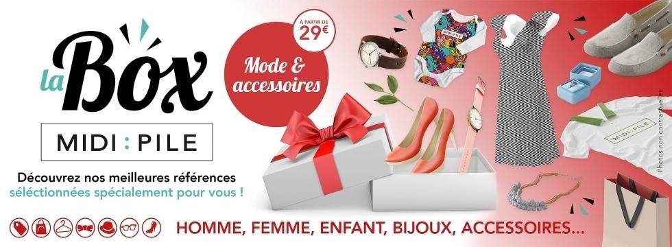 Box Midipile :: Mode & Accessoires