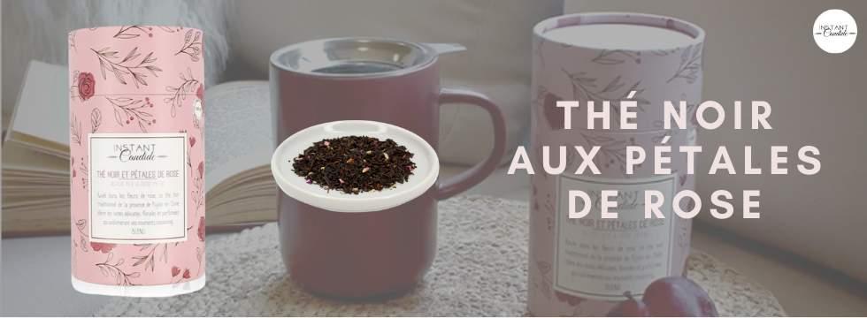 Boite cadeaux thé noir & pétales de rose (2 gagnants)