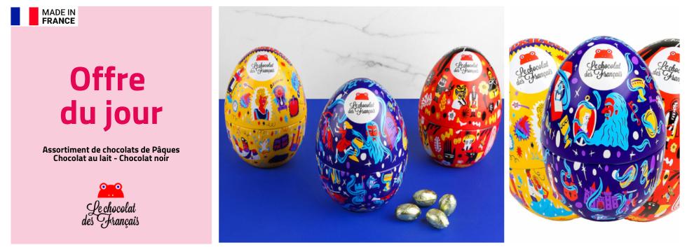 Pour Pâques, le Chocolat des Français vous offre ses 2 créations
