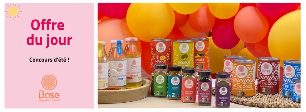 Concours d'été - Base Organic Food