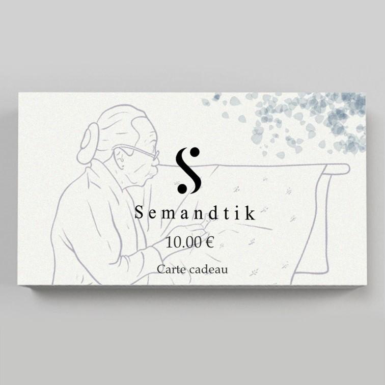 carte cadeau semandtik