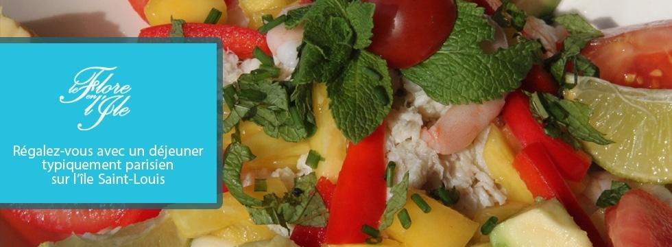 1001 Menus vous offre un déjeuner typiquement parisien sur l'île Saint-Louis