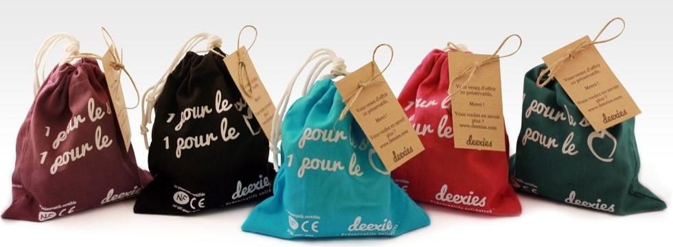 Tentez de gagner un pochon de 15 préservatifs solidaires Deexies!