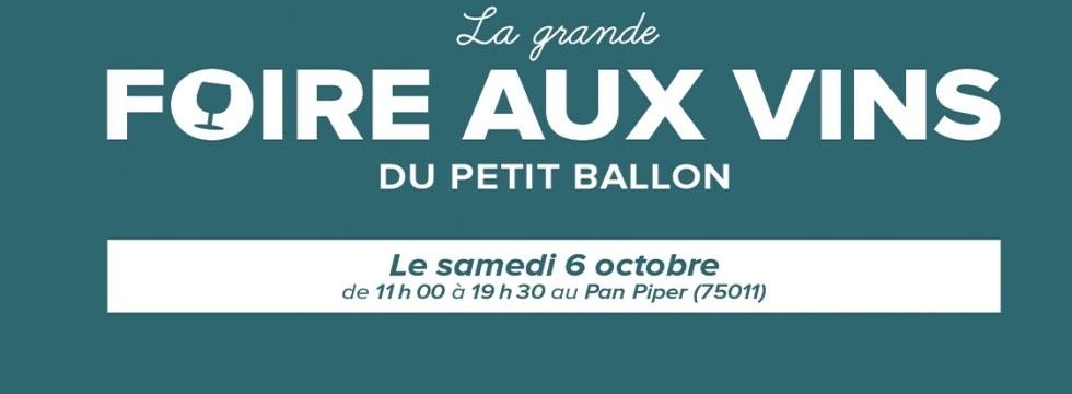 Gagnez vos places pour la Foire Aux Vins du Petit Ballon