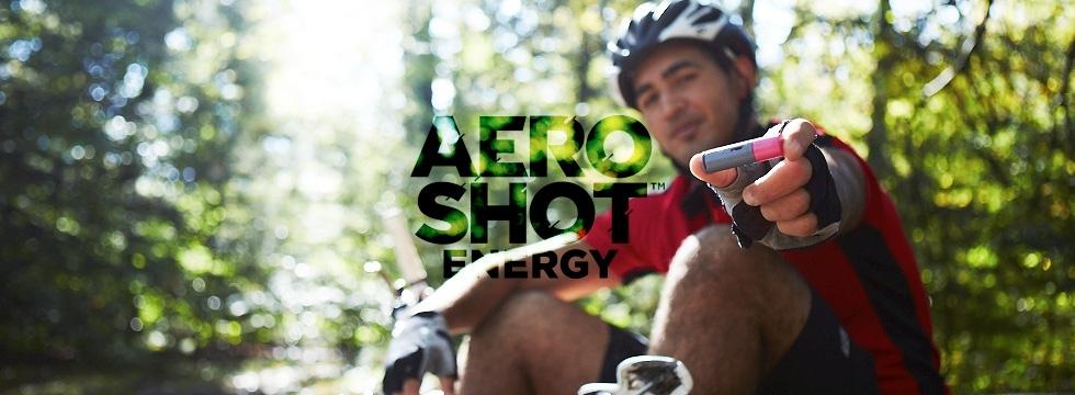 2 packs de 10 AeroShots Framboise et Pomme Verte