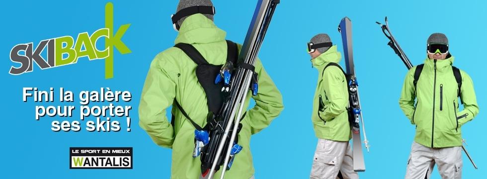Gagnez un des quinze porte-skis révolutionnaires conçus par Wantalis !