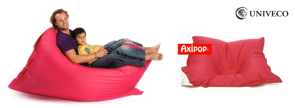 midipile in dit le l gendaire pouf g ant axi pop d 39 univeco remporter univeco. Black Bedroom Furniture Sets. Home Design Ideas