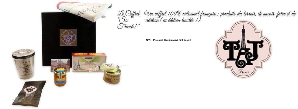 Découvrez et remportez le Coffret So French! n°1 de TAJ PARIS !