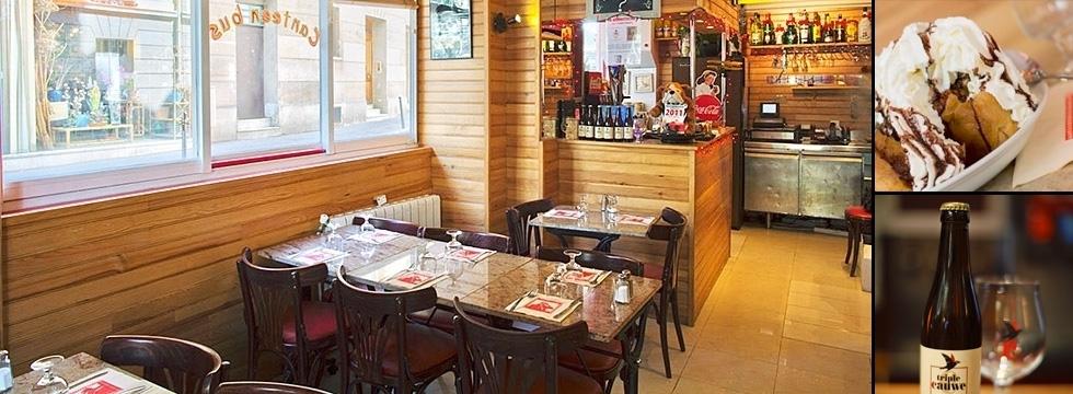 1001 Menus vous invite à découvrir le restaurant Le Canteen Bus Gobelins !