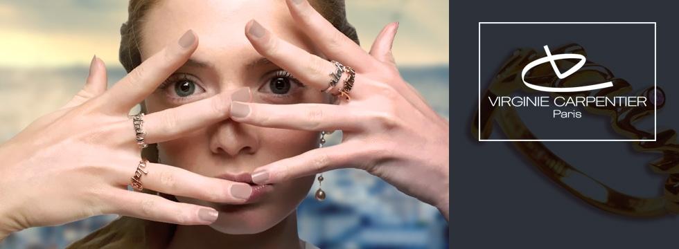 Découvrez les bijoux de la créatrice Virginie Carpentier !