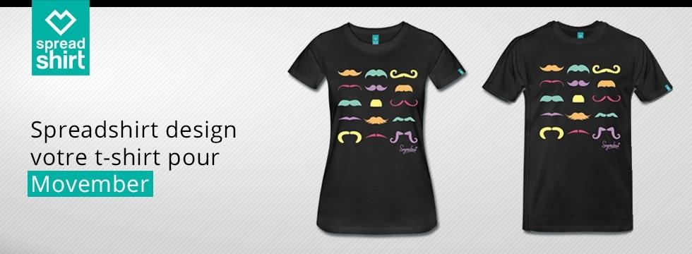 Découvrez les créations Spreadshirt, 100% personnalisables !