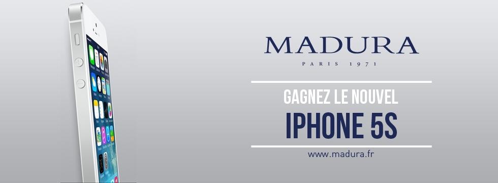 A ne pas rater : Gagnez un iPhone 5S avec Madura !