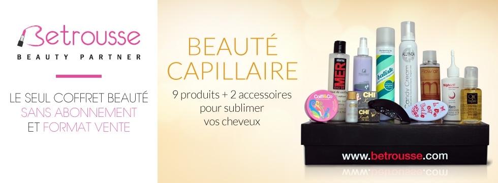 Faites le plein de produits beauté avec Betrousse !