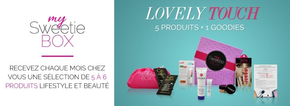 Découvrez les BOX beauté de My Sweetie Box !
