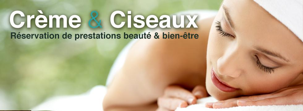 Découvrez l'appli Crème & Ciseaux : vos bons plans beauté & bien être autour de vous !