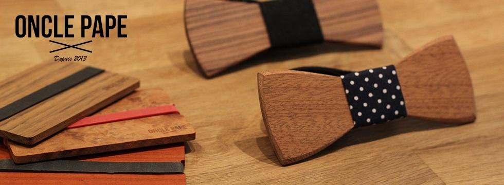 Découvrez Oncle Pape : les accessoires en bois chics et originaux !