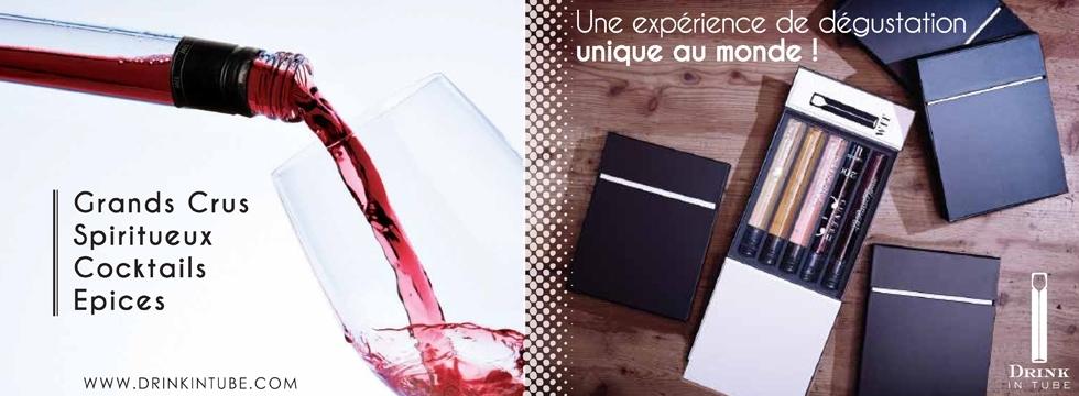 Dégustez Drink in Tube : le Vin, autrement !