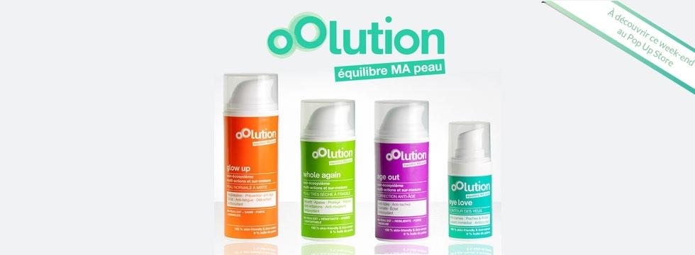 Découvrez oOlution : les soins visages personnalisés aux actifs biologiques !