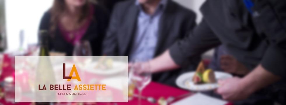 Découvrez la  Belle Assiette et réservez un chef à domicile !