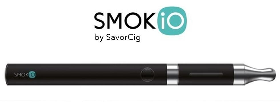 Smokio et SavorCig présentent la première cigarette électronique et connectée !