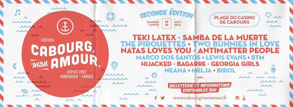 Cabourg, Mon Amour, le rendez-vous des amoureux de la musique indépendante et de la Normandie !
