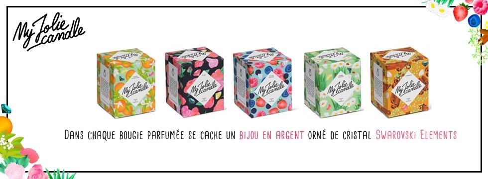 Découvrez My Jolie Candle : La bougie parfumée dans laquelle se cache un bijou !
