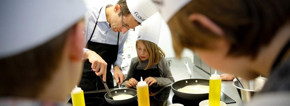 Apprenez à cuisiner en famille avec Bavoir & Tablier !