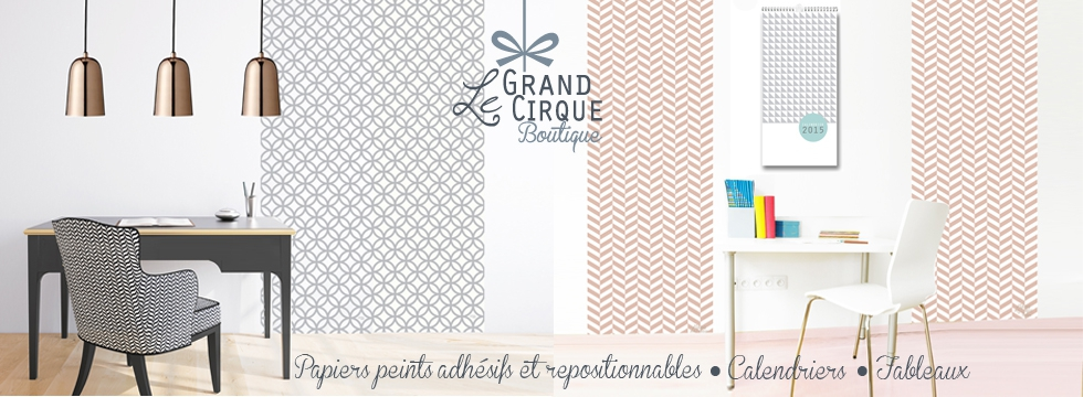 Des murs originaux d'un coup de baguette magique avec La Boutique du Grand Cirque