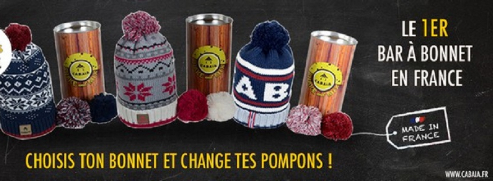 On adopte les bonnets aux pompons interchangeables Cabaïa!