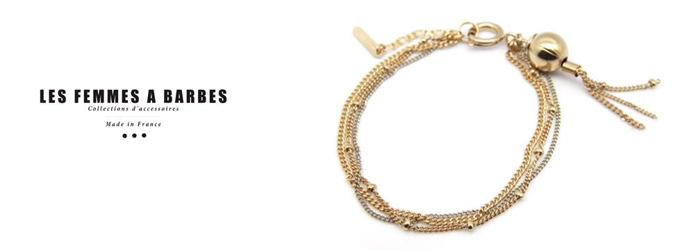 Parez-vous de bijoux uniques et élégants avec Les femmes à Barbes !