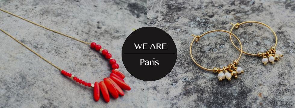 Découvrez des bijoux 100% made in France avec We Are Paris !