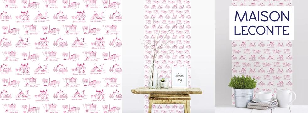 Maison Leconte réinvente l'art du papier peint !