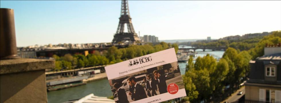 Les meilleurs pressings de Paris directement chez vous !
