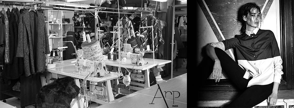 Arp Paris : le prêt-à-porter haut de gamme féminin