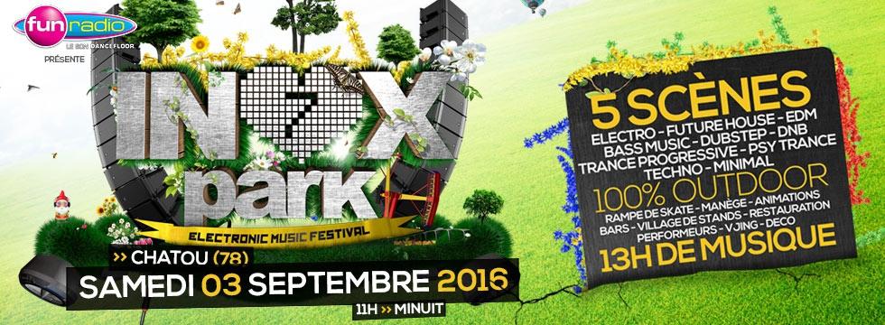 Inox Park : Le festival électro de la rentrée !