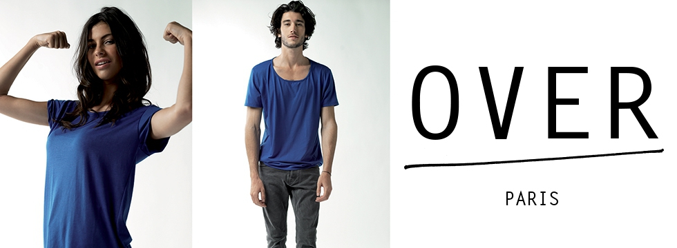 Over : la mode unisex ultra-tendance !