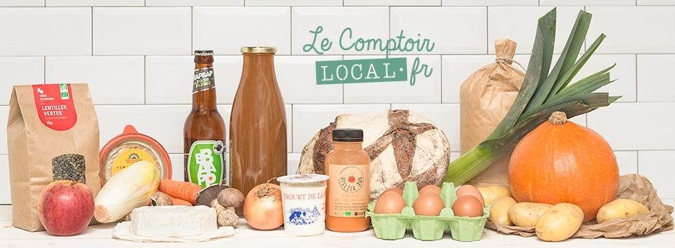 Le Comptoir Local : produits frais, épicerie fine, livraison en 48h !
