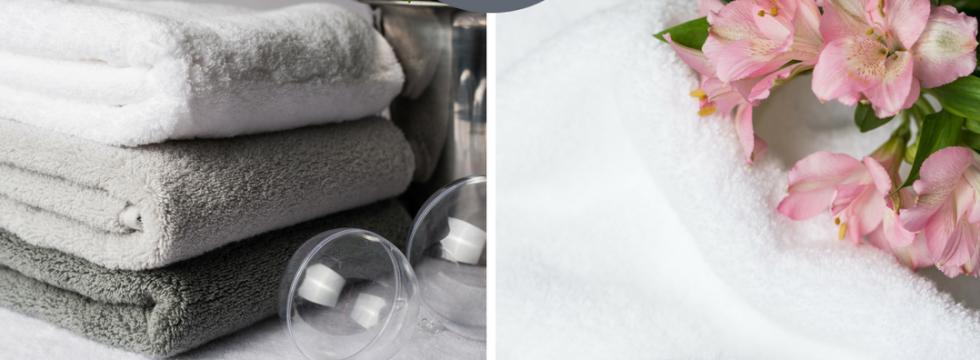 Coffret LUIN : le panier, le senteur et deux mini serviettes spa