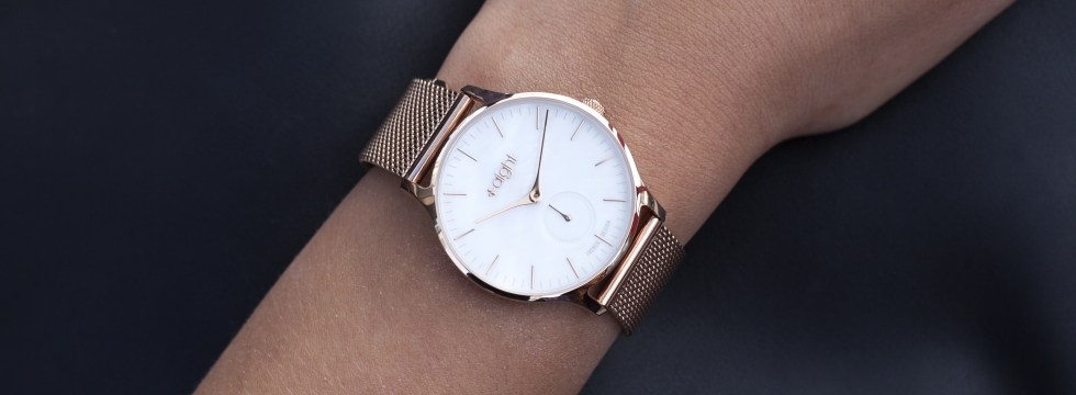 Paris Or rose, la montre tendance du Printemps à offrir ou à s'offrir !