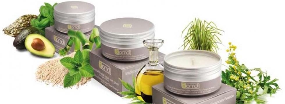 Un trio de soins cosmétiques Bomoï, certifiés BIO