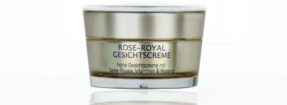 Rose-Royal, crème pour le visage à la rose et à la gelée royale