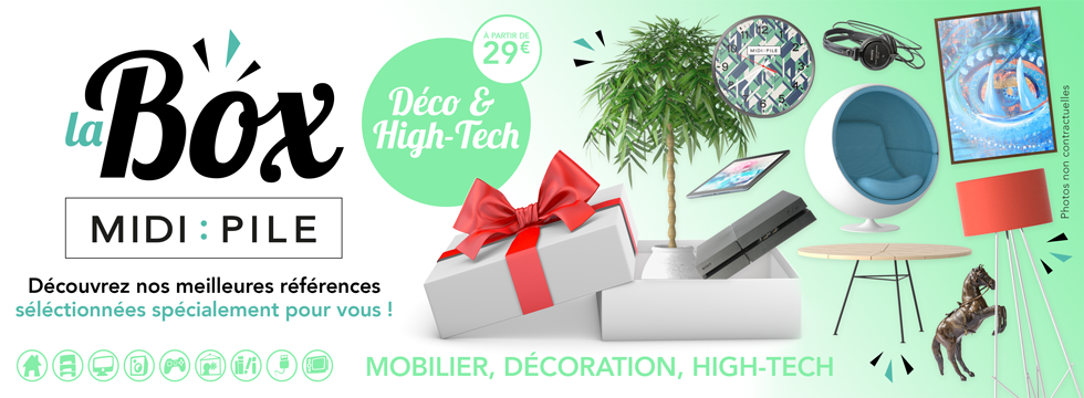 Box Midipile :: Déco & High-Tech