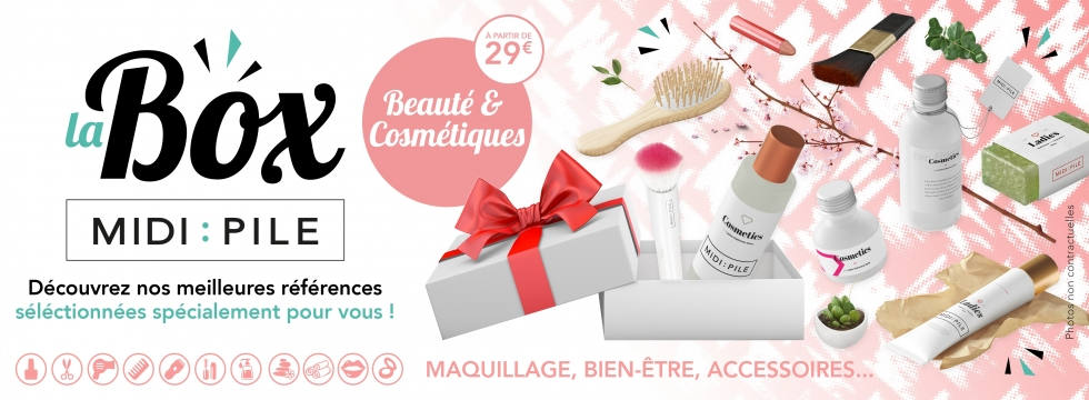 Box Midipile :: Beauté & Cosmétiques