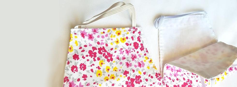 Masque Pink Flower - Alberta Musso