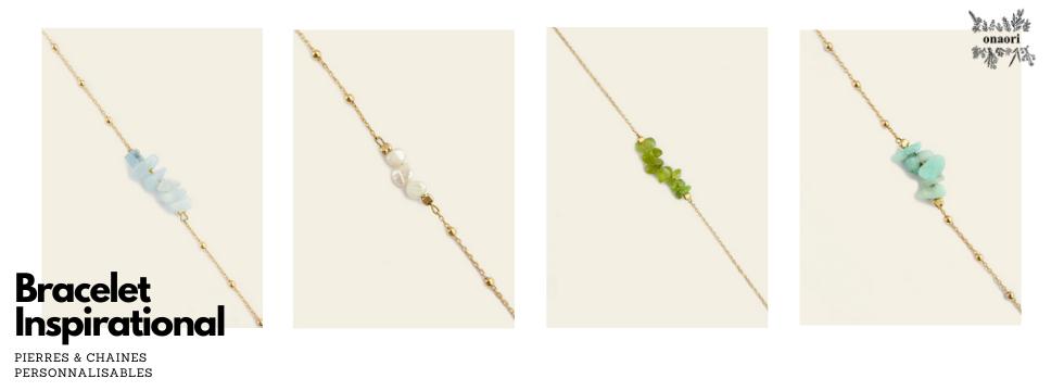 Bijoux personnalisables Onaori