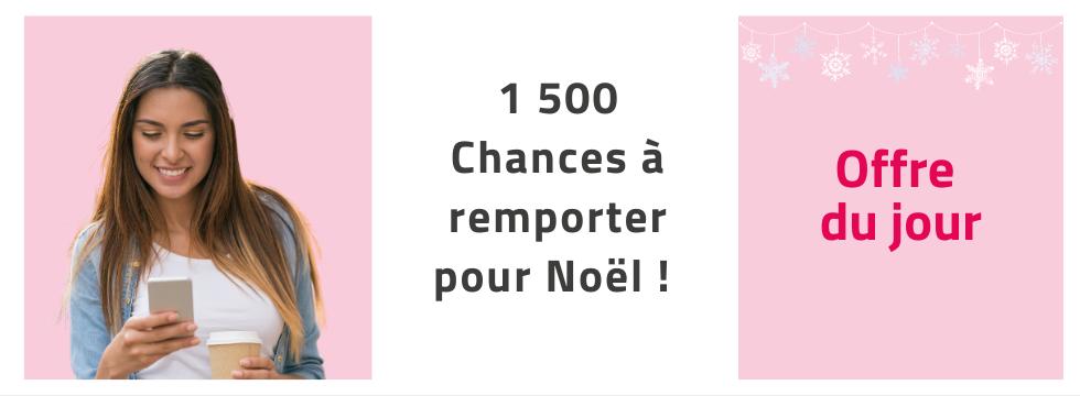 1500 chances à gagner pour attendre Noël avec Midipile !